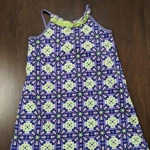 Hanna Andersson Dress 140 Knit Midi 100% Cotton